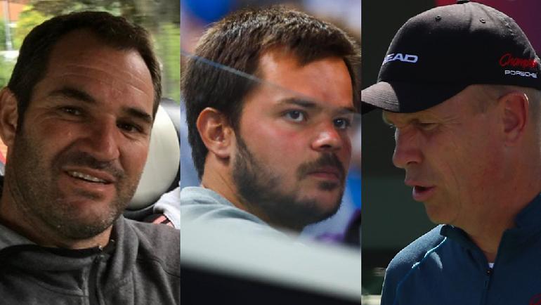 Карлос МАРТИНЕС, Симон ГОФФЕН, Томас ХОГСТЕДТ - тренеры российских теннисисток.