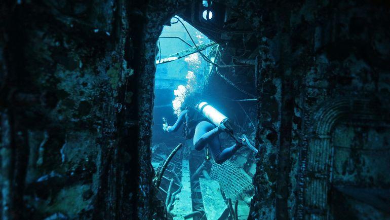 Исследование подводных объектов.