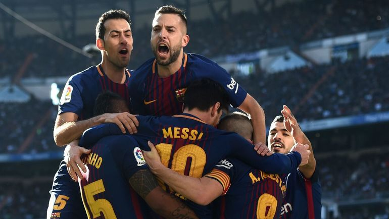 """""""Барселона"""" vs """"Челси""""."""