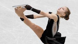 13-летняя Александра ТРУСОВА первой в истории женского фигурного катания сделала два чистых четверных прыжка.