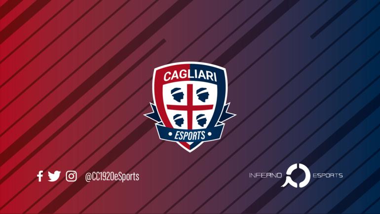 Логотип Cagliari Calcio eSports. Фото twitter.com/CC1920eSports