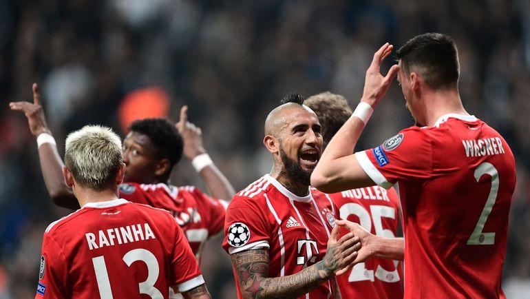 """""""Бавария"""" празднует гол. Фото AFP"""