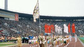 19 июля 1980 года. Москва. Церемония открытия Олимпийских игр.