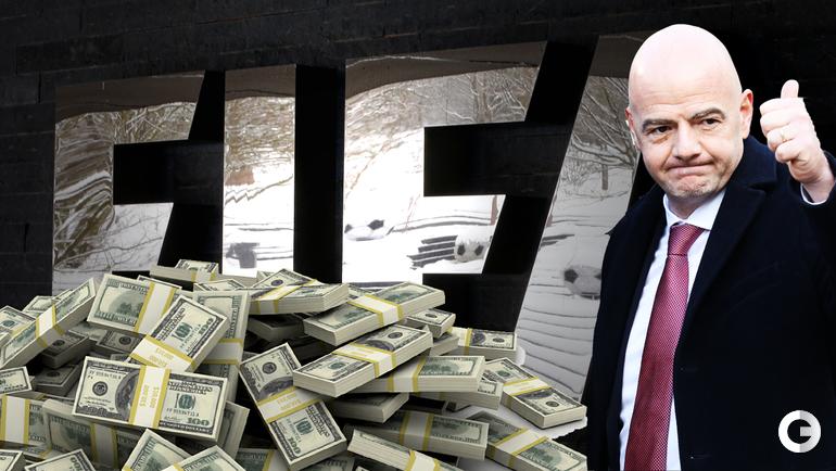 Сколько зарабатывают в ФИФА и УЕФА?