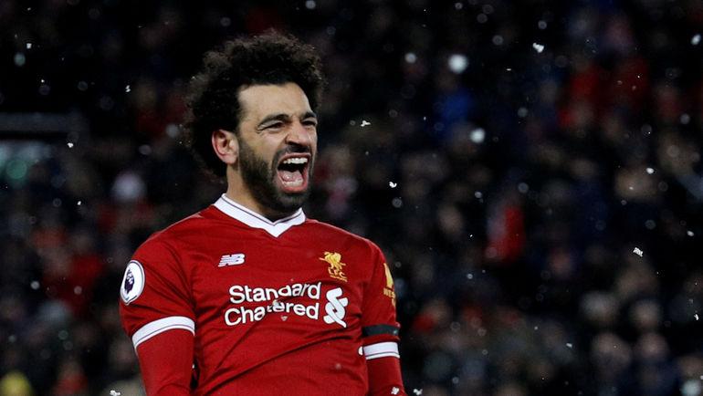 """Суббота. Ливерпуль. """"Ливерпуль"""" – """"Уотфорд"""" – 5:0. Автор покера Мохамед САЛАХ. Фото REUTERS"""