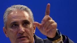 Главный тренер сборной Бразилии ТИТЕ.