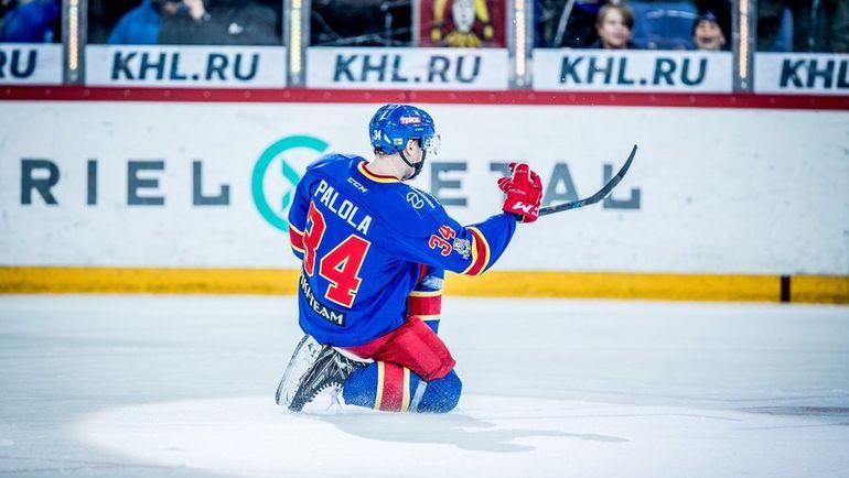 Олли ПАЛОЛА - автор дубля в ворота ЦСКА. Фото twitter.com/jokerithc
