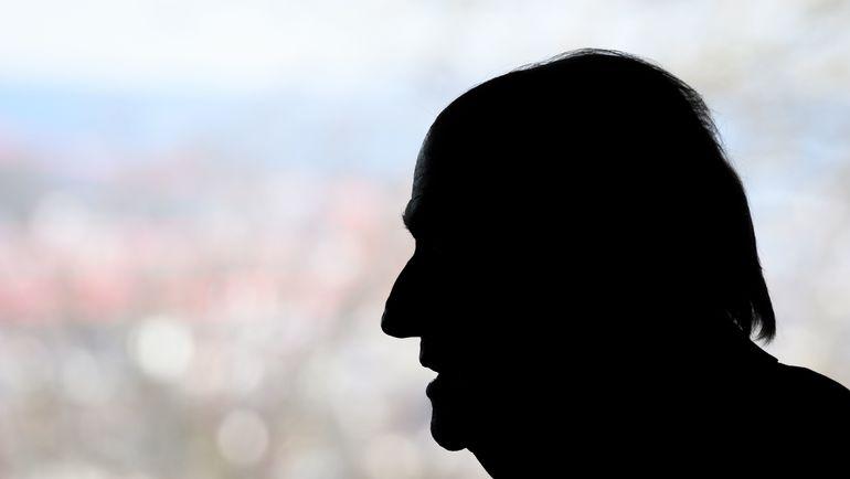 Март. Цюрих. Йозеф БЛАТТЕР. Фото AFP
