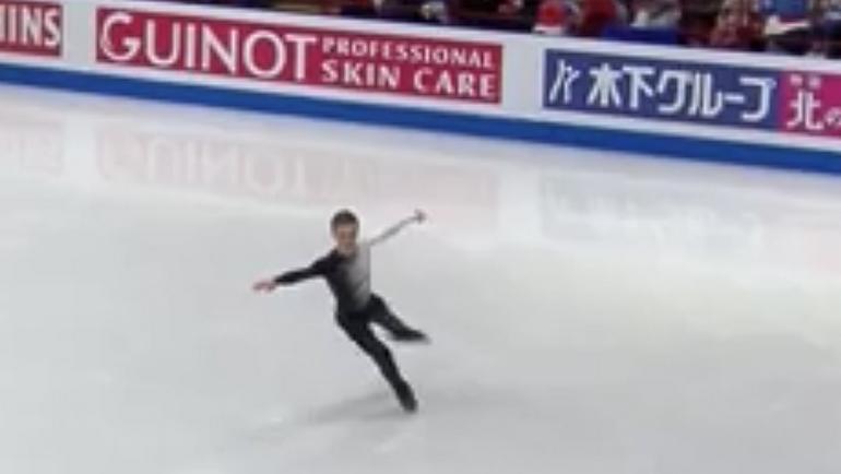 Русский фигурист Коляда занял 3-е место начемпионате мира