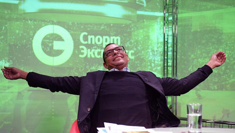 """ЖИЛБЕРТУ СИЛВА в редакции """"СЭ"""". Фото «СЭ»"""