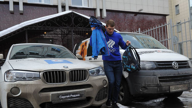 Машина Сергея РИДЗИКА. Фото Федор УСПЕНСКИЙ, «СЭ»