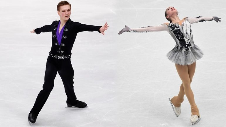 Михаил КОЛЯДА и Алина ЗАГИТОВА. Фото «СЭ»