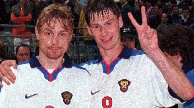 Валерий КАРПИН (слева) и Егор ТИТОВ. Фото Сергей КИВРИН