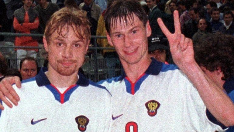 """Валерий КАРПИН (слева) и Егор ТИТОВ. Фото Сергей КИВРИН, """"СЭ"""""""