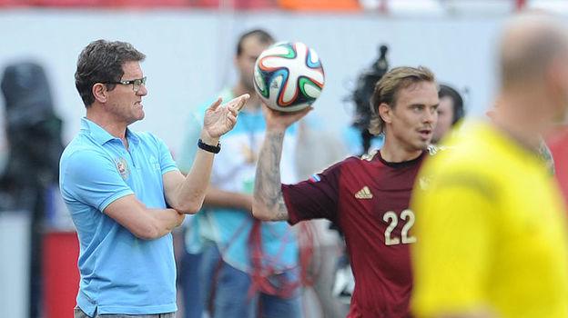 Фабио КАПЕЛЛО и Андрей ЕЩЕНКО. Фото Алексей ИВАНОВ