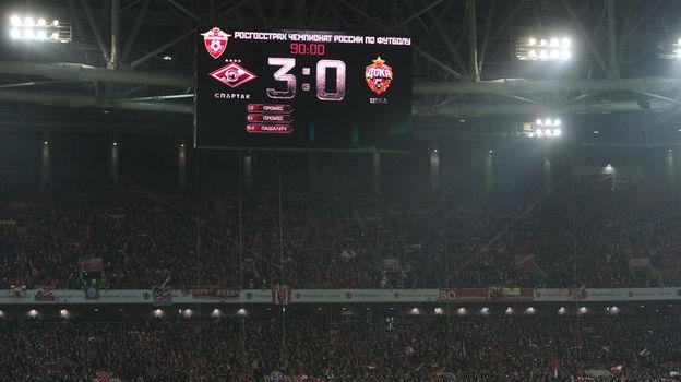 В премьер-лиге не всем удается собирать аншлаги на матчах. Фото Александр ФЕДОРОВ, «СЭ»
