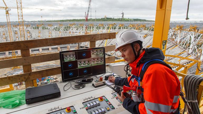 Строительство стадиона в Волгограде. Фото stroytransgaz.ru