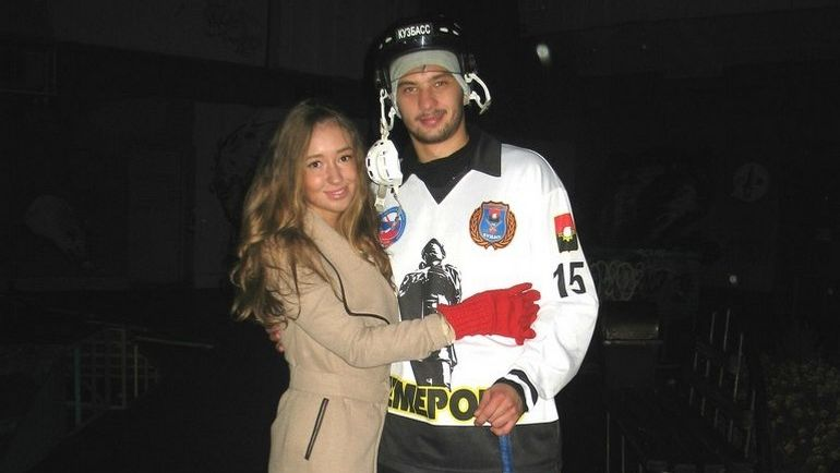 Максим СЕМЕНОВ с супругой. Фото Вконтакте