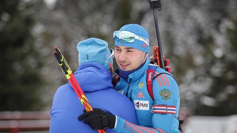Антон ШИПУЛИН (справа) и Рикко ГРОСС. Фото Андрей АНОСОВ, СБР