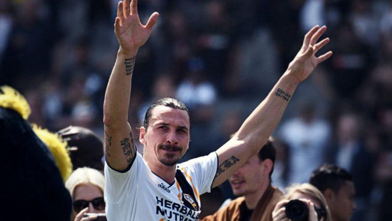 Златан Ибрагимович. Фото twitter.com/MLS