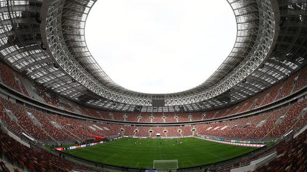 "Стадион ""Лужники"". Фото Александр ФЕДОРОВ, «СЭ»"