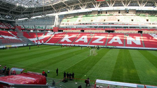 "Стадион ""Казань Арена"". Фото Александр ВОЛГИН"