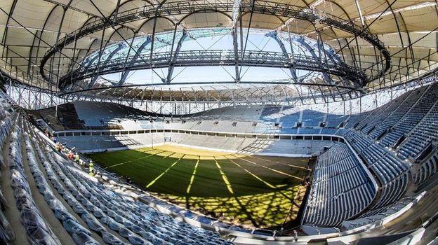 """Стадион """"Волгоград Арена"""". Фото AFP"""