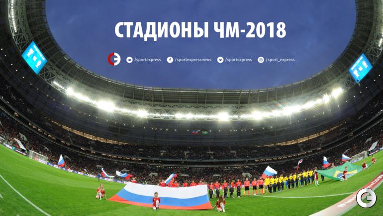 Стадионы чемпионата мира-2018.