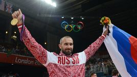 12 августа 2012 года. Лондон. Олимпийский чемпион Сергей ТЕТЮХИН.