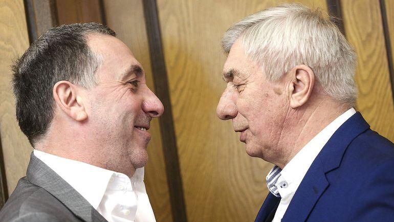 Евгений ГИНЕР и Георгий ЯРЦЕВ. Фото duma.gov.ru