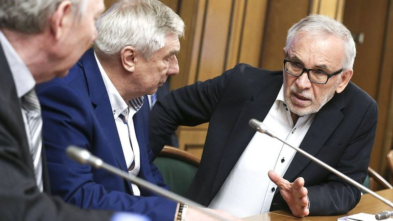 Георгий ЯРЦЕВ и Гаджи ГАДЖИЕВ.
