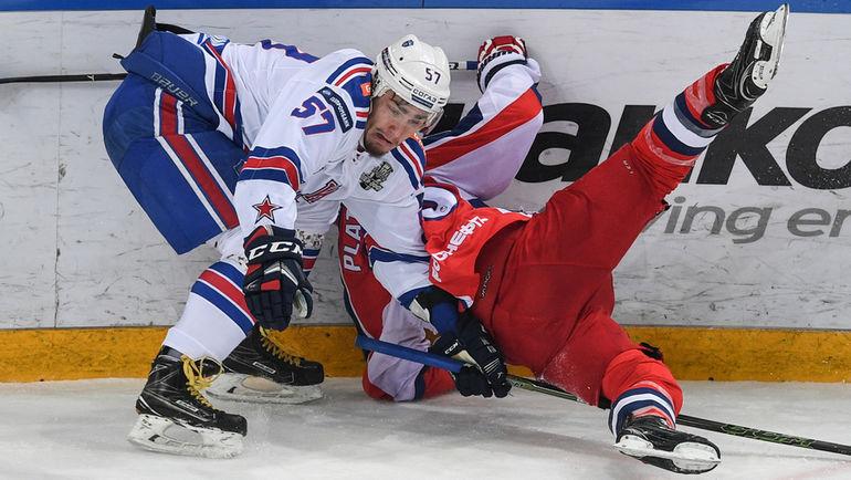 Сумеет ли СКА упрочить лидерство в серии с ЦСКА? Фото Дарья ИСАЕВА, «СЭ»