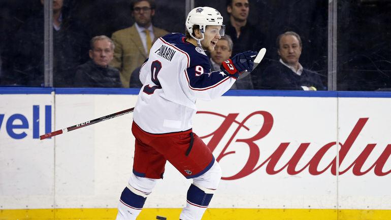 Артемий ПАНАРИН. Фото USA TODAY Sports