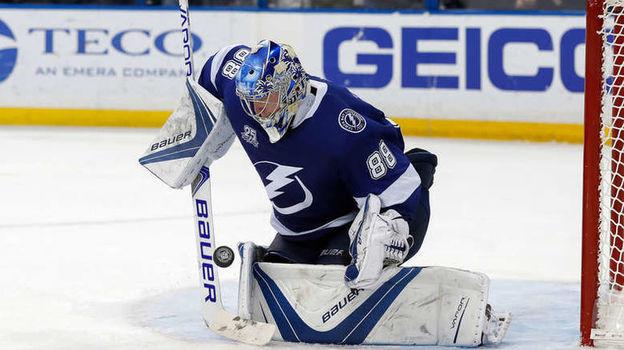 Андрей ВАСИЛЕВСКИЙ. Фото НХЛ