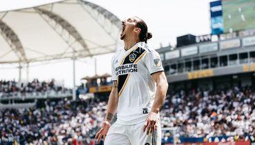 Ибрагимович за первый матч в MLS включен в команду недели