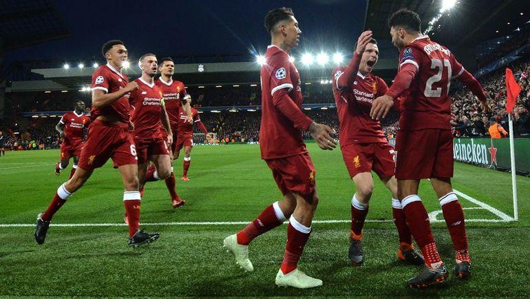 """Среда. Ливерпуль. """"Ливерпуль"""" – """"Манчестер Сити"""" – 3:0. """"Красные"""" разгромили """"горожан"""" в английском противостоянии. Фото AFP"""