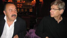 6 сентября 2007 года. Ньон. Семинар тренеров. Валерий ГАЗЗАЕВ (слева) и Арсен ВЕНГЕР.