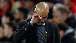 """Среда. Ливерпуль. """"Ливерпуль"""" - """"Манчестер Сити"""" - 3:0. Главный тренер """"Манчестер Сити"""" Хосеп ГВАРДЬОЛА: провал?"""