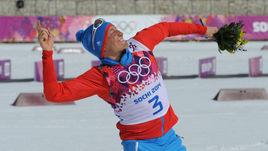 23 февраля 2014 года. Сочи. Александр ЛЕГКОВ - победитель олимпийской гонки на 50 км.