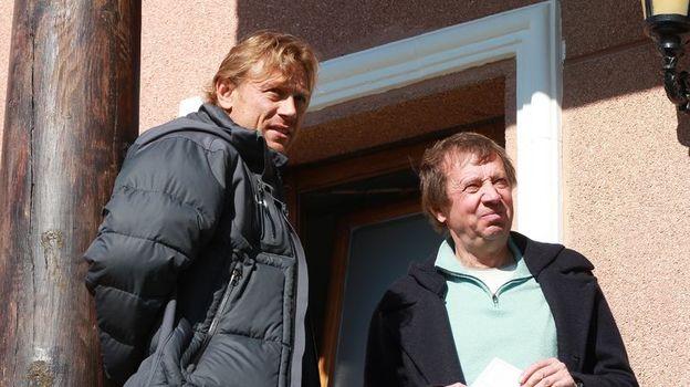 Валерий КАРПИН (слева) и Юрий СЕМИН. Фото Павел КАРПЕНКО