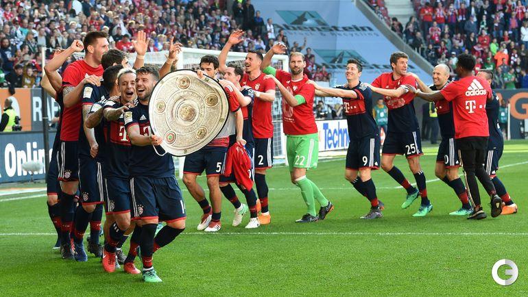 "Суббота. Аугсбург. ""Аугсбург"" - ""Бавария"" - 1:4."