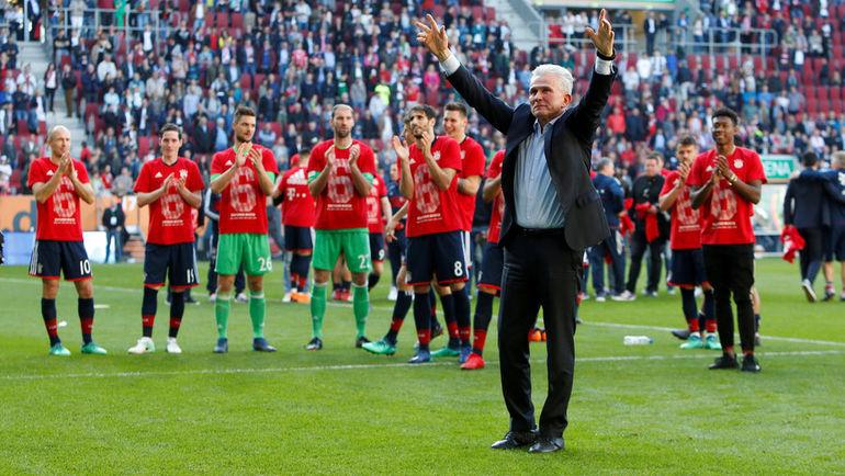 Найти тренера по футбол команды бавария мюнхен