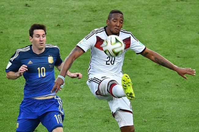 Защитник сборной Германии Джером БОАТЕНГ. Фото AFP