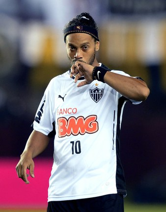 Бывший полузащитник сборной Бразилии РОНАЛЬДИНЬЮ Фото AFP