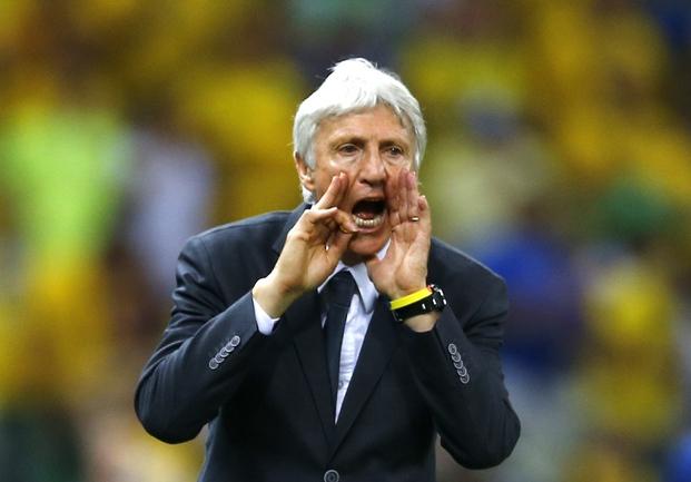 Главный тренер сборной Колумбии Хосе ПЕКЕРМАН Фото Reuters