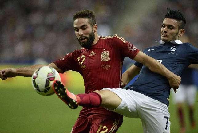 Защитник сборной Испании Даниэль КАРВАХАЛЬ Фото AFP