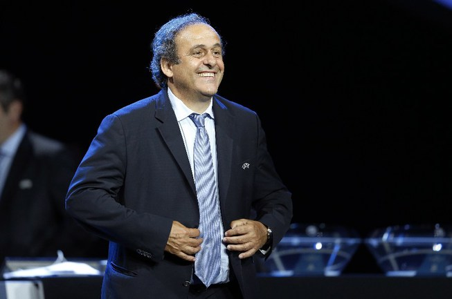 Президент УЕФА Мишель ПЛАТИНИ Фото AFP