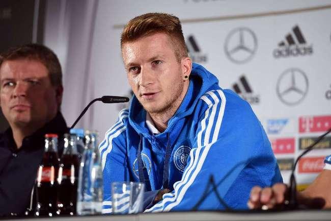 Полузащитник сборной Германии Марко РОЙС Фото AFP