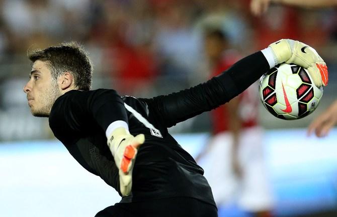 "Вратарь ""Манчестер Юнайтед"" Давид ДЕ ХЕА Фото AFP"