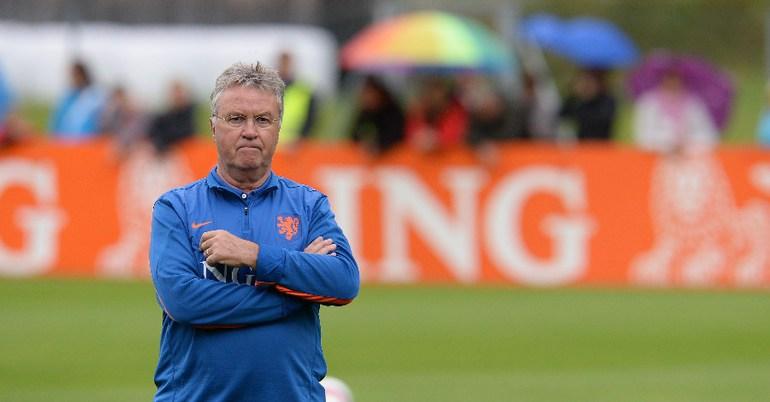 Главный тренер сборной Голландии Гус ХИДДИНК Фото AFP